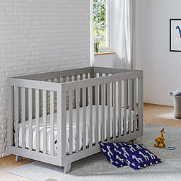 Storkcraft Beckett 3-in-1 Convertible Crib in Pebble Grey