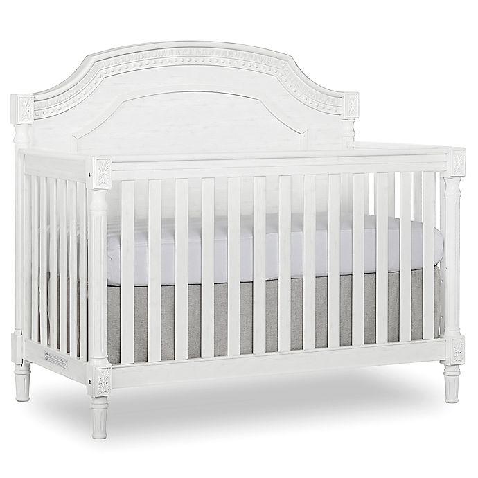 Alternate image 1 for evolur™ Julienne 5-in-1 Convertible Crib in White