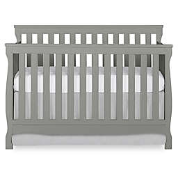 Dream on Me Keyport 5-in-1 Convertible Crib in Dark Brown