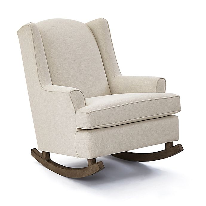 Alternate image 1 for Best Chairs Willow Riverloom Rocker in Snow