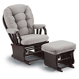 Best Chairs Bedazzle Glider and Ottoman