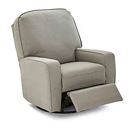 Best Chairs® Bilana Swivel Glider Recliner in Sterling