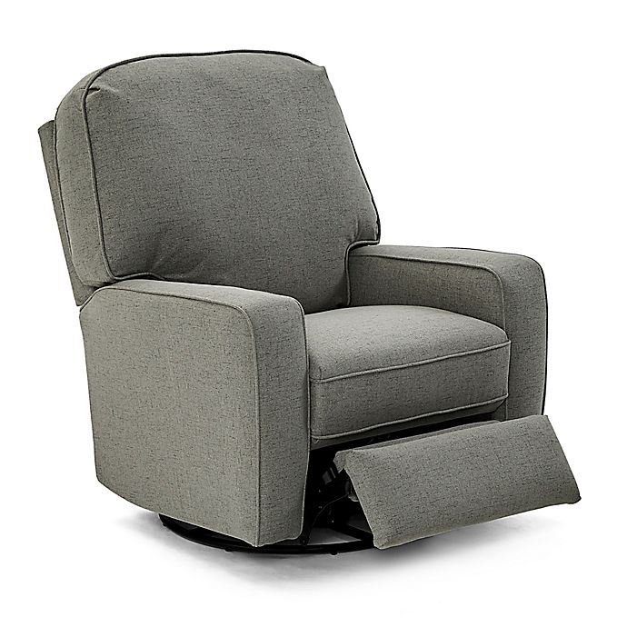 Alternate image 1 for Best Chairs® Bilana Swivel Glider Recliner