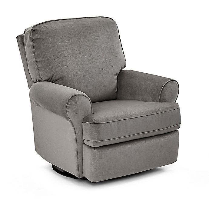 Alternate image 1 for Best Chairs Tryp Swivel Glider Recliner