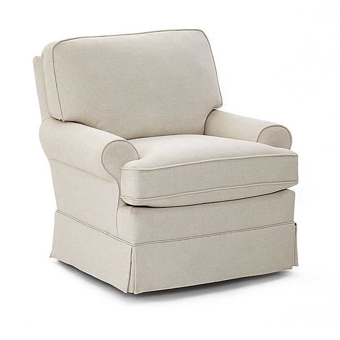 Alternate image 1 for Best Chairs® Quinn Swivel Glider