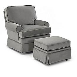 Best Chairs® Quinn Swivel Glider