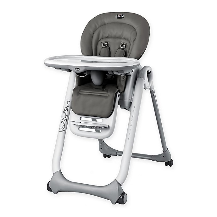 Alternate image 1 for Chicco® Polly2Start High Chair in Graphite