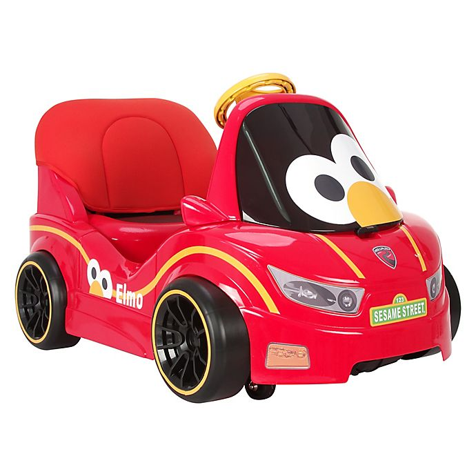 Elmo and Zoe Race Car Coin-Operated Ride - YouTube
