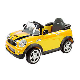Rollplay 6V Mini Cooper Ride-On in Yellow