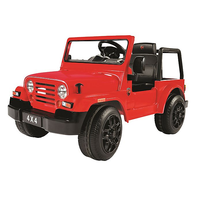 Alternate image 1 for Rollplay 6V 4x4 SUV Ride-On in Red