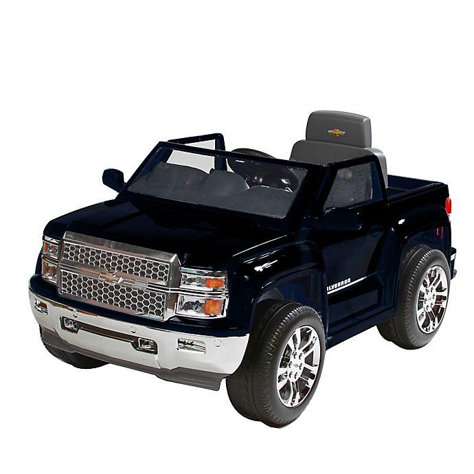 Alternate image 1 for Rollplay 6V Chevrolet Silverado Ride-On in Black