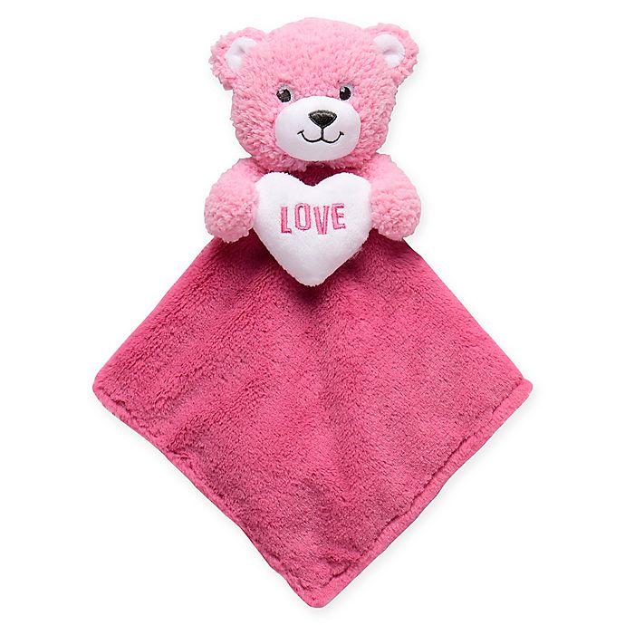 Alternate image 1 for Build-A-Bear Lovie Teddy Bear Plush Security Blanket in Pink
