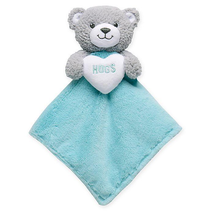 Alternate image 1 for Build-A-Bear Lovie Teddy Bear Plush Security Blanket in Blue
