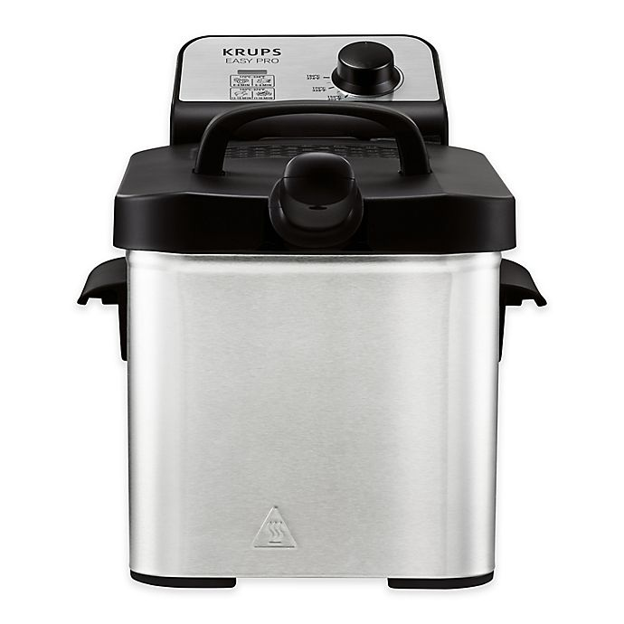 Alternate image 1 for Krups® 2.6 qt. Easy Pro Deep Fryer with Snacking Tray