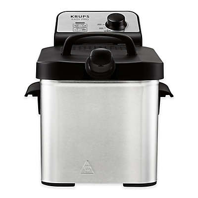 Krups® 2.6 qt. Easy Pro Deep Fryer with Snacking Tray