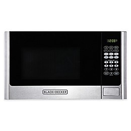 Black & Decker™ 0.9 cu. ft. Microwave Oven in Stainless Steel