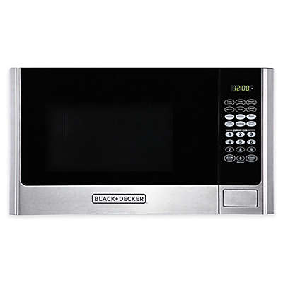 Microwave Oven in Stainless Steel