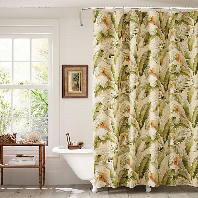 Tommy BahamaR Palmiers Shower Curtain And Window Collection
