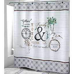 Avanti Modern Farmhouse Shower Curtain Collection