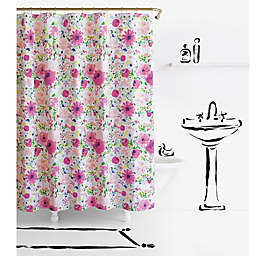 kate spade new york Dahlia Shower Curtain Collection