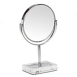 NYC Skyline Mirror in White