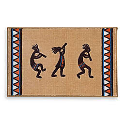 Avanti Kokopelli Bath Rug Collection