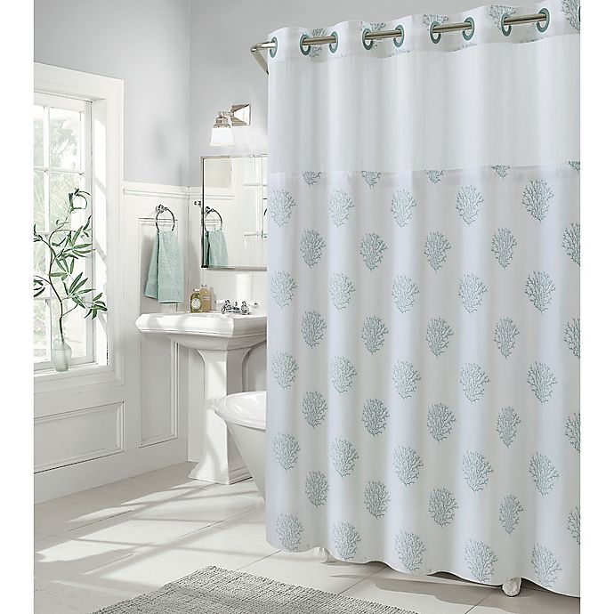 Alternate image 1 for Coral Reef Shower Curtain Collection