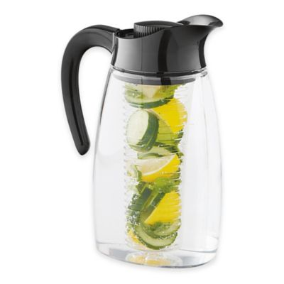 Primula 174 Flavor It 174 Infuse Pitcher In Black Bed Bath