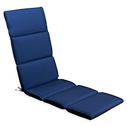 Millano Collection Solid Outdoor Lounger Cushion