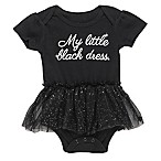 Baby Starters® Size 3M  My Little Black Dress  Tulle Skirt Bodysuit in Black