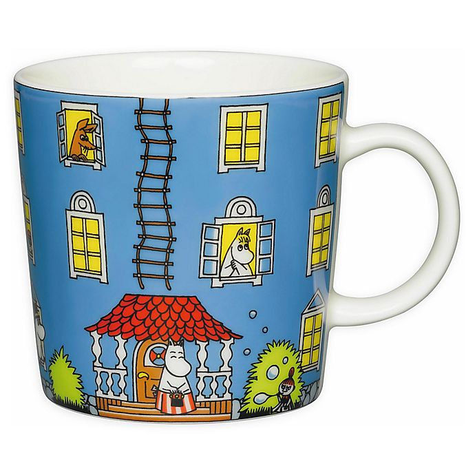 Alternate image 1 for Arabia Moomin House Coffee Mug