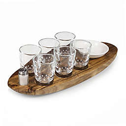Legacy by Picnic Time® Cantinero Shot Glass Serving Tray Set