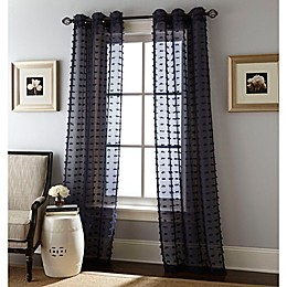 Payton Grommet Window Curtain Panel Pair
