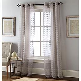 Payton Grommet Window Curtain Panel Pair