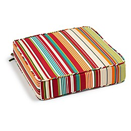 Stripe Outdoor Deep Seat Cushion