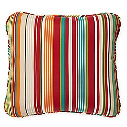 Stripe Outdoor Deep Seat Back Cushion