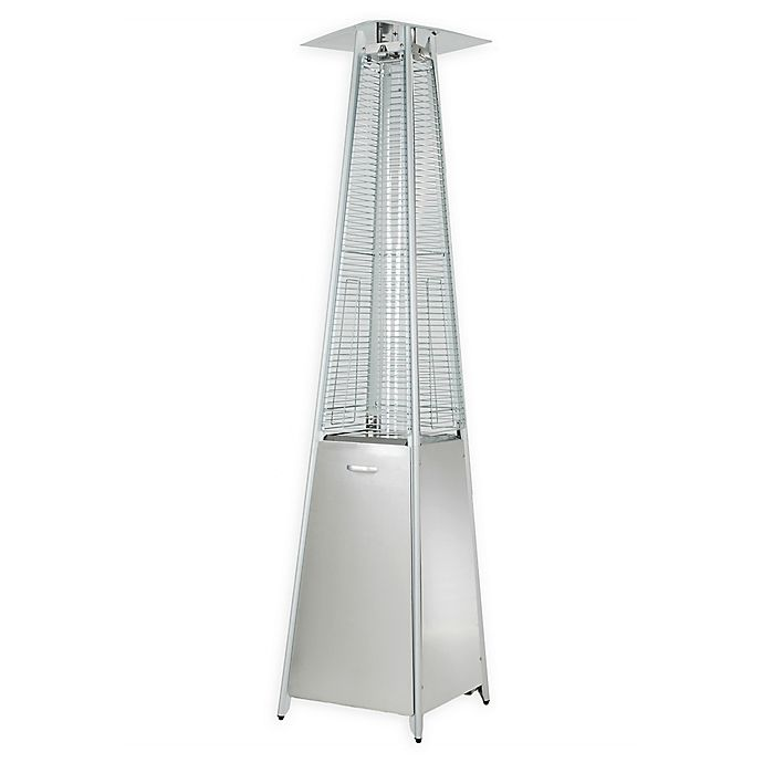 Alternate image 1 for Zen Temp 4-Sided Patio Heater in Stainless Steel