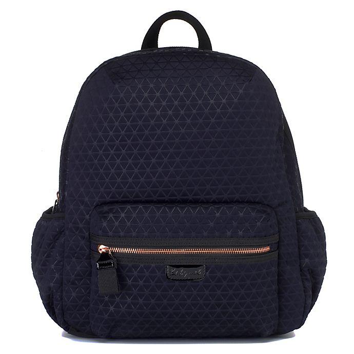 Alternate image 1 for BabyMel Luna Ultra Lite Backpack Diaper Bag in Navy