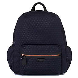 BabyMel Luna Ultra Lite Backpack Diaper Bag in Navy