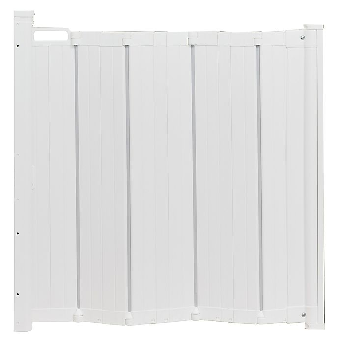 Alternate image 1 for BabyDan® Guard Me™ Auto-Retractable Safety Gate in White