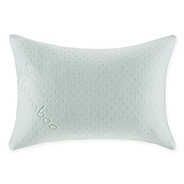 Sleep Philosophy Shredded Memory Foam Pillow in White