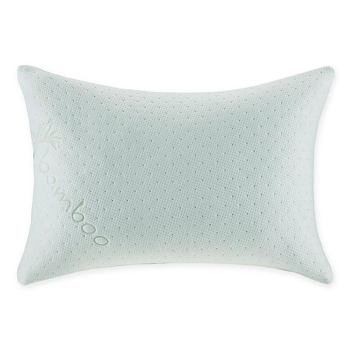 Alternate image 1 for Sleep Philosophy Shredded Queen Memory Foam Pillow in White