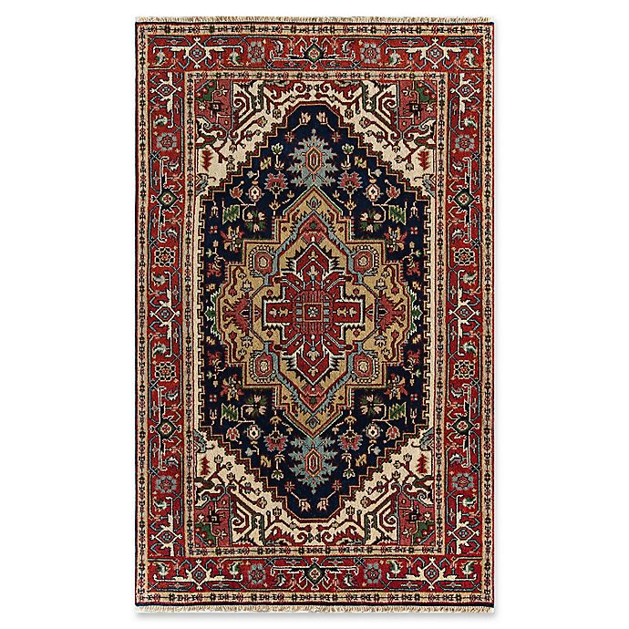 Alternate image 1 for Rugs America Che 4' X 6' Hand-Knotted Area Rug in Blue