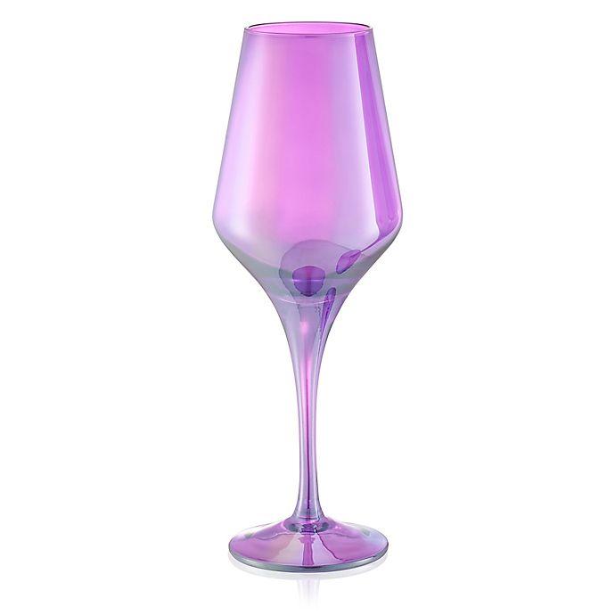 Alternate image 1 for Artland® Luster Goblets in Purple (Set of 4)