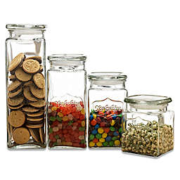 Circleware Yorkshire Beverage Dispenser Canisters (Set of 4)