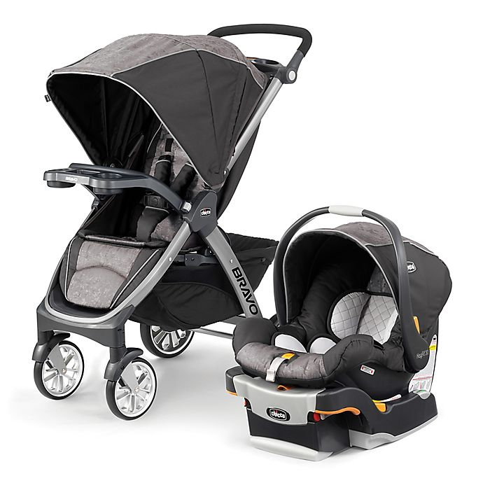 Alternate image 1 for Chicco® Bravo® Trio Travel System