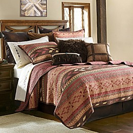 HiEnd Accents Broken Arrow Reversible Quilt Set