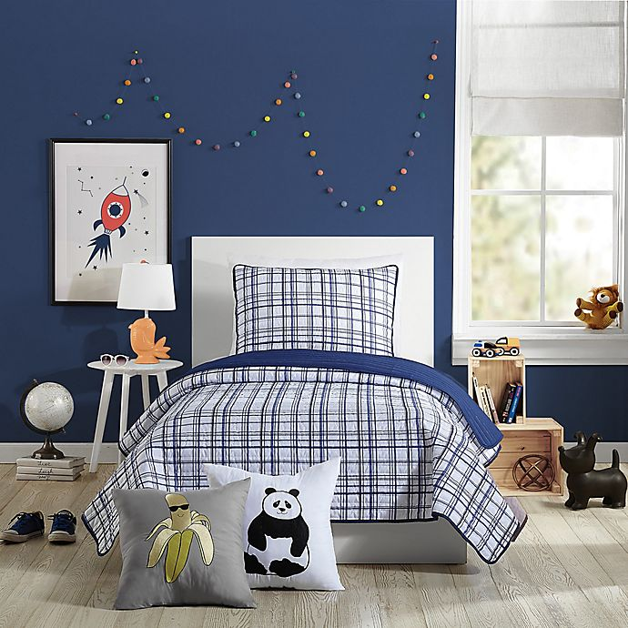 Alternate image 1 for Urban Playground Marquis Twin Quilt in Navy