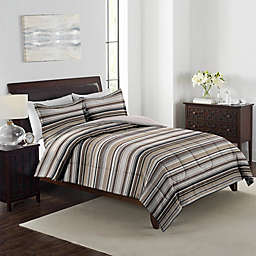 Grant Stripe 3-Piece Reversible Comforter Set