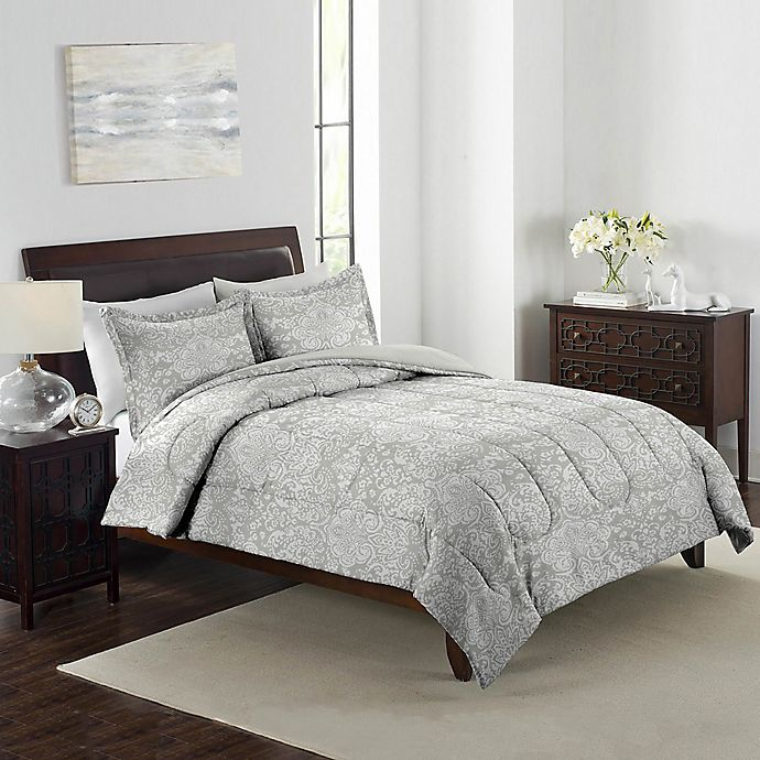 Alternate image 1 for Boho Damask 3-Piece Comforter Set